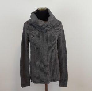 Staccato gray turtleneck sweater size medium